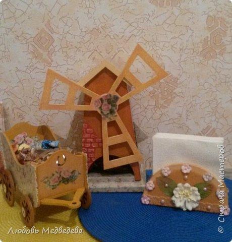 """Чайный домик """"Мельница"""" и наборы для кухни фото 4"""