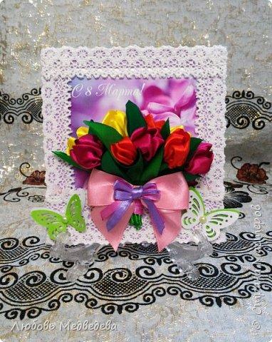 Топиарий, цветочный шар, открытки,конверты и альбомы с цветами из лент, украшения для дочки фото 5