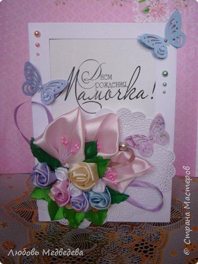 Топиарий, цветочный шар, открытки,конверты и альбомы с цветами из лент, украшения для дочки фото 6