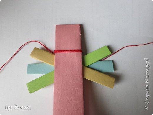 Сейчас я учусь на курсах- Кукольный хоровод http://stranamasterov.ru/workshop18 . Там мы делаем разных куколок-лично я уже 10 штук сделала;) Одна из кукол - Филипповка. Ох и полезная, я вам скажу, куколка! Помощница, да многорукая_ короче, вЕщь! Пока ее делала, придумала вот такую, совсем простую игрушку- офисную подружку. фото 8