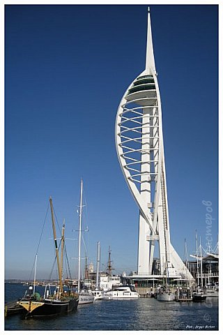 Spinnaker Tower, Portsmouth, UK  фото 2