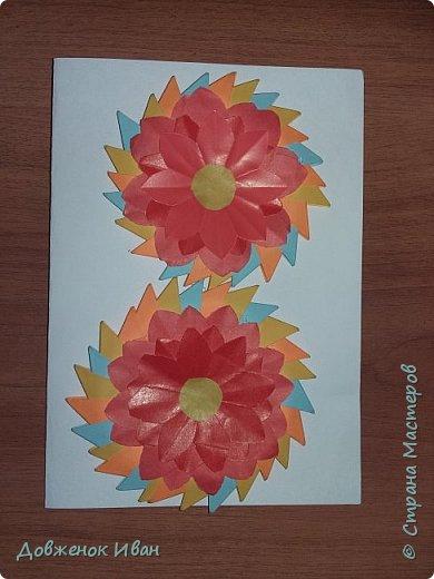 Восьмёрочки - открыточки сделал в подарок к 8 марта .  фото 2