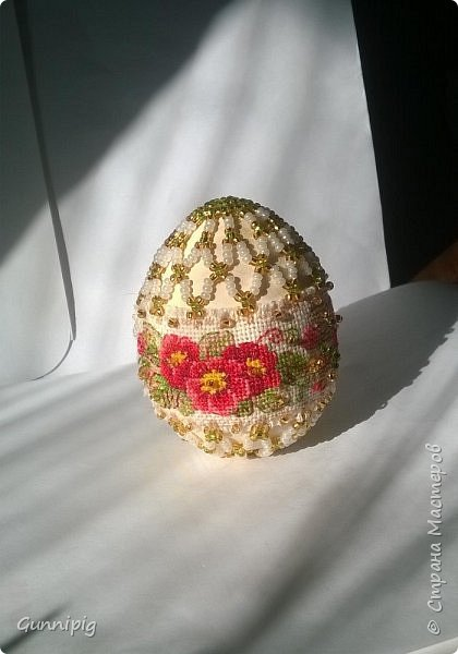 Вот и яичко готово. Уже второе из данной серии. фото 2