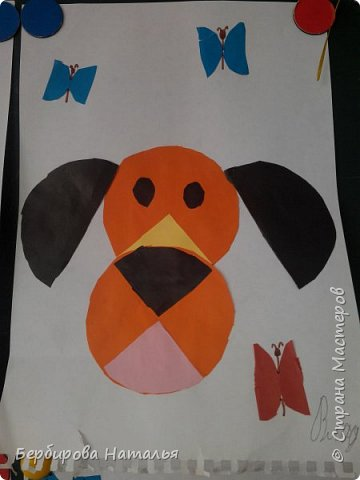 Пёсик и бабочки фото 4