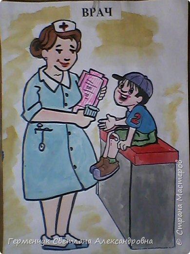 """В нашей школе проводится на протяжении  всего учебного года  работа  по профориенации,Ребята моего класса приняли активное участие и  предоставили  раскраски на тему   """"Все работы хороши- выбирай на вкус"""" ..Дети,   в первую очередь, выбирали  изображения ,связанные с  работой   своих родителей, бабушек, дедушек, а затем , которые их заинтересовали Постарались все на славу!!! МОЛОДЦЫ ВСЕ!!!.Раскраски взяла  здесь allforchildren.ru/paint/index_prof.php  фото 4"""