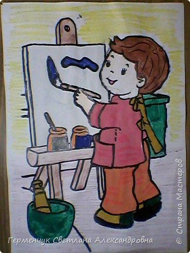 """В нашей школе проводится на протяжении  всего учебного года  работа  по профориенации,Ребята моего класса приняли активное участие и  предоставили  раскраски на тему   """"Все работы хороши- выбирай на вкус"""" ..Дети,   в первую очередь, выбирали  изображения ,связанные с  работой   своих родителей, бабушек, дедушек, а затем , которые их заинтересовали Постарались все на славу!!! МОЛОДЦЫ ВСЕ!!!.Раскраски взяла  здесь allforchildren.ru/paint/index_prof.php  фото 8"""