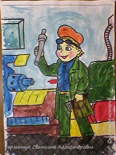 """В нашей школе проводится на протяжении  всего учебного года  работа  по профориенации,Ребята моего класса приняли активное участие и  предоставили  раскраски на тему   """"Все работы хороши- выбирай на вкус"""" ..Дети,   в первую очередь, выбирали  изображения ,связанные с  работой   своих родителей, бабушек, дедушек, а затем , которые их заинтересовали Постарались все на славу!!! МОЛОДЦЫ ВСЕ!!!.Раскраски взяла  здесь allforchildren.ru/paint/index_prof.php  фото 27"""