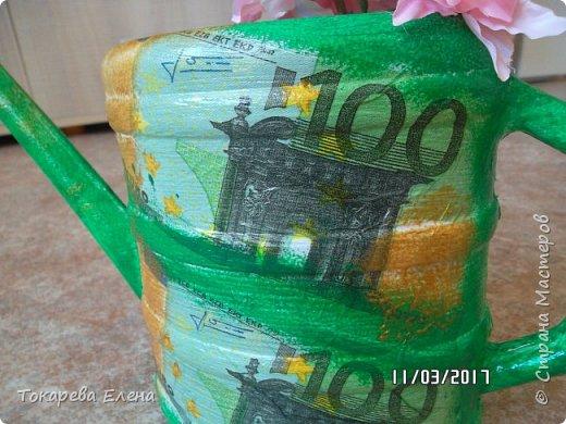 Лейка для денежного дерева. фото 2