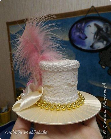 Заколка-шляпка  фото 3