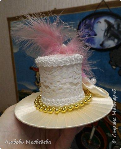 Заколка-шляпка  фото 2