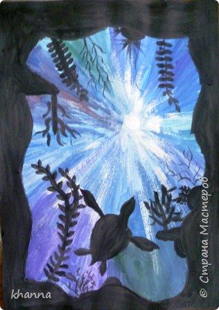 Рисунок Алины Х., ученицы 5 класса фото 3