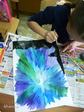 Рисунок Алины Х., ученицы 5 класса фото 4