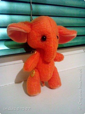 Слоненок Таша (по выкройке Беспаловой Екатерины) фото 3
