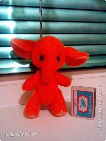 Слоненок Таша (по выкройке Беспаловой Екатерины) фото 2