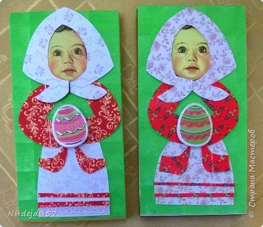 """Приветствую  всех  жителей  нашей Страны мастеров!  Как обещала, здесь я покажу как делаю упаковочку для шоколадок в мягкой  бумажной упаковке.  Как украшать и чем  можно посмотреть здесь:  http://stranamasterov.ru/node/1084936#comment-14603330 Все  сейчас делают подарки к предстоящему великому празднику ПАСХА.  Вот я решила сделать такой наряд для """"Аленки""""... к Пасхе..... Эта первая такая """"Аленка"""" можно сказать экспериментальный экземпляр.  Спешу поделится, чтобы вы тоже успели сделать  вместе с детьми такой подарок к ПАСХЕ. фото 8"""