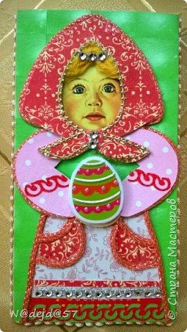 """Приветствую  всех  жителей  нашей Страны мастеров!  Как обещала, здесь я покажу как делаю упаковочку для шоколадок в мягкой  бумажной упаковке.  Как украшать и чем  можно посмотреть здесь:  http://stranamasterov.ru/node/1084936#comment-14603330 Все  сейчас делают подарки к предстоящему великому празднику ПАСХА.  Вот я решила сделать такой наряд для """"Аленки""""... к Пасхе..... Эта первая такая """"Аленка"""" можно сказать экспериментальный экземпляр.  Спешу поделится, чтобы вы тоже успели сделать  вместе с детьми такой подарок к ПАСХЕ. фото 1"""