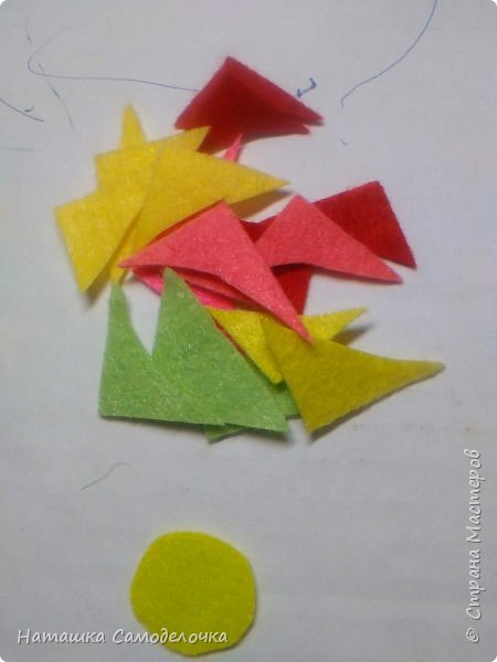 всем здрасте)))))вот такие я придумала корзиночки глядя на свой фетр 10-10 фото 9