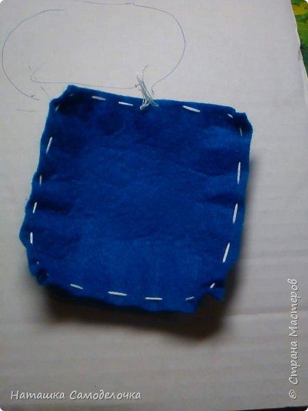всем здрасте)))))вот такие я придумала корзиночки глядя на свой фетр 10-10 фото 5