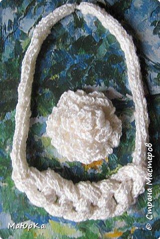 Украшения, связанные крючком и на куколке. фото 11
