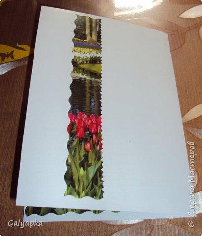 Всех Мастериц с прошедшим, прекрасным праздником 8 марта! Такие вот открыточки создались у меня в прошлом году к этому празднику. Шаблон 8 взят в интернете, все открытки у меня 14*20 см. А дальше ввход пошло воображение фото 4