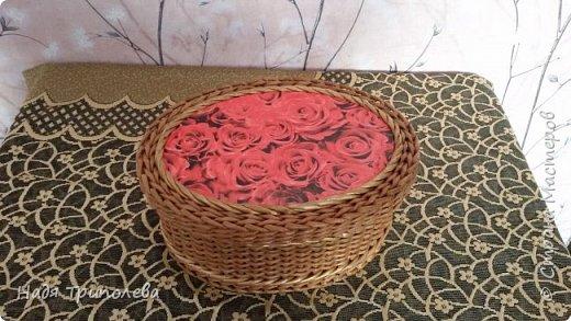 """Всем здравствуйте! Немного новых работ. Шкатулочка """"Благородная роза"""". Потребительская бумага А4 пополам, спица 1,7мм, колер+грунтовка+лак, перламутровая эмаль фото 1"""