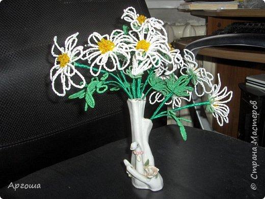 Орхидея из бисера. Первый опыт. фото 2