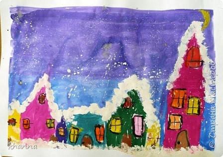 Рисунок Кати, ученицы 2 класса фото 1