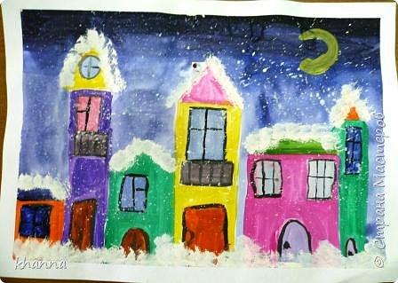 Рисунок Кати, ученицы 2 класса фото 4