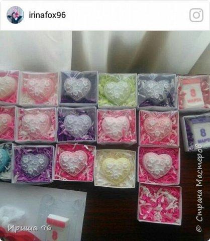 Вот такие коробочки я наделала к 8 марта для упаковки мыла в подарок))) Ниже мастер- класс этой этой коробочки) фото 1