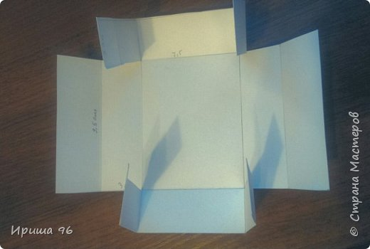 Вот такие коробочки я наделала к 8 марта для упаковки мыла в подарок))) Ниже мастер- класс этой этой коробочки) фото 3