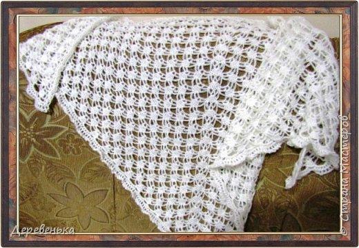 Вот и новенькие шали, что у меня получились. фото 5
