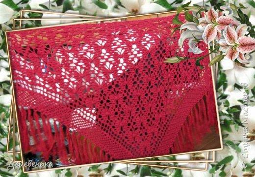 Вот и новенькие шали, что у меня получились. фото 3