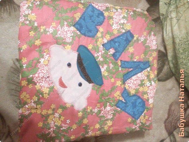 Книжка- подушка-развивашка,32*32см... фото 2