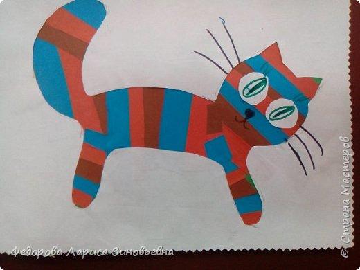 Всем добрый день. Вот таких замечательных кошек сделали мои четвероклассники к всемирному дню кошек - 1 марта.  фото 5