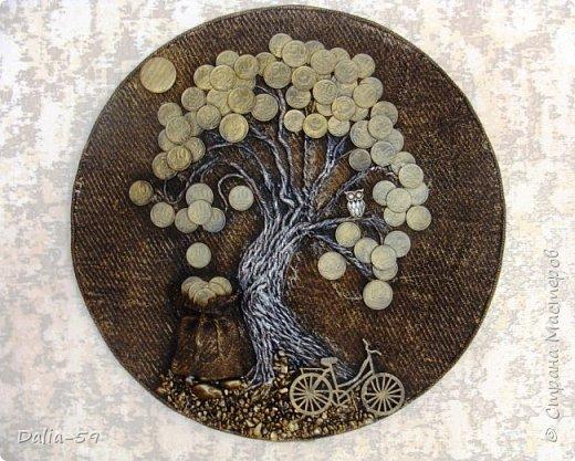 Здравствуйте,жители страны!Сделала на подарки такие денежные деревья.В стране много подобных деревьев.Здесь МК Марины.(http://stranamasterov.ru/node/578436?c=favorite)Марина,спасибо. фото 2