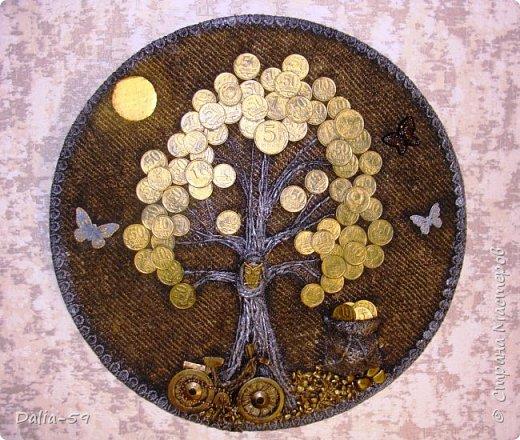Здравствуйте,жители страны!Сделала на подарки такие денежные деревья.В стране много подобных деревьев.Здесь МК Марины.(https://stranamasterov.ru/node/578436?c=favorite)Марина,спасибо. фото 6