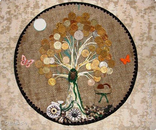 Здравствуйте,жители страны!Сделала на подарки такие денежные деревья.В стране много подобных деревьев.Здесь МК Марины.(http://stranamasterov.ru/node/578436?c=favorite)Марина,спасибо. фото 8