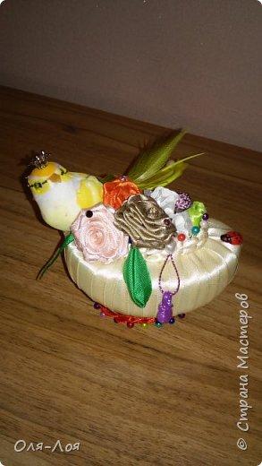 Доброго времени суток! Делюсь с Вами подарочками на 8 марта! Это мыльная корзиночка. Корзиночка правда без ручки мне так больше понравилось. фото 2