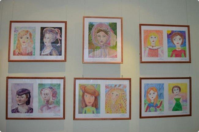 """Здравствуйте, дорогие друзья! Я к вам с очередным фотоотчётом)) Приглашаю вас на отчётную выставку творческих работ учащихся отделения """"Изобразительное искусство"""" нашей детской школы искусств. Детское изобразительное творчество - это откровение и чистота... Потому что искренне, честно, пусть наивно, не всегда по правилам искусства, зато по правилам жизни: бескорыстно, справедливо и правдиво.  На выставке представлено около двухсот работ учащихся школы искусств, выполненные за последние два года. фото 70"""