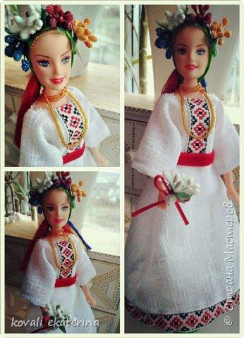 Накрыло весеннее настроение, пробуждение природы, захотелось создать такой образ. Кукла была вмонтирована в гипсовую подставку и теперь служит сувениром у приятельницы.