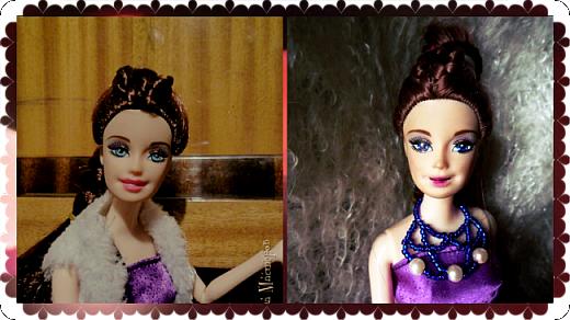На этот раз действительно всего понемножку)))  Ну для начала... Сделала бусы для Джулии из бисера. Платье на ней покупное, потому что мало-мальски нормальную одежду я еще ей не шила. фото 11