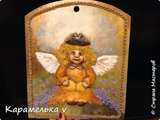Привет Страна! Снова вернулась  к моим любимым ангелочкам),по работам питерской художницы Галины Чувиляевой. фото 1