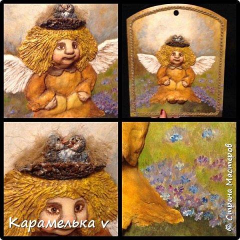 Привет Страна! Снова вернулась  к моим любимым ангелочкам),по работам питерской художницы Галины Чувиляевой. фото 2