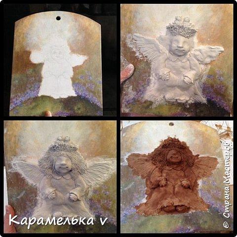 Привет Страна! Снова вернулась  к моим любимым ангелочкам),по работам питерской художницы Галины Чувиляевой. фото 3