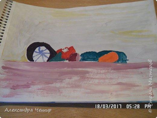 Здравствуйте, уважаемая Страна Мастеров!  Сегодня я покажу вам рисунки в альбоме.  3-ий класс. фото 2