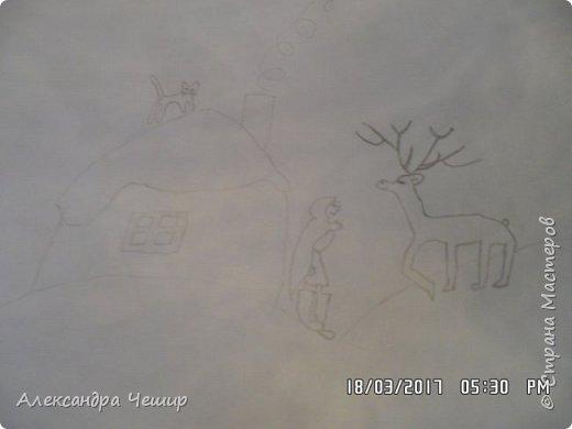 Здравствуйте, уважаемая Страна Мастеров!  Сегодня я покажу вам рисунки в альбоме.  3-ий класс. фото 9