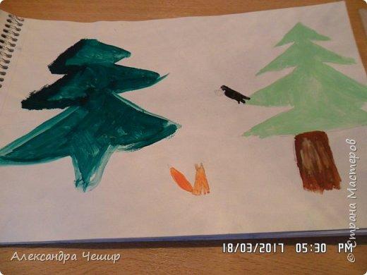 Здравствуйте, уважаемая Страна Мастеров!  Сегодня я покажу вам рисунки в альбоме.  3-ий класс. фото 14