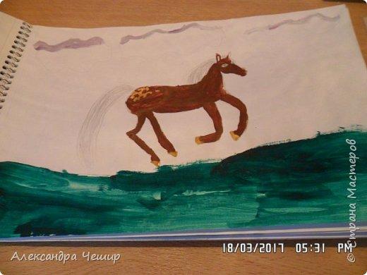 Здравствуйте, уважаемая Страна Мастеров!  Сегодня я покажу вам рисунки в альбоме.  3-ий класс. фото 17