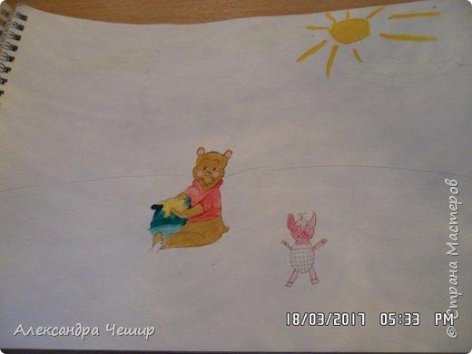 Здравствуйте, уважаемая Страна Мастеров!  Сегодня я покажу вам рисунки в альбоме.  3-ий класс. фото 27