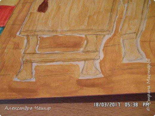Здравствуйте, уважаемая Страна Мастеров!  Сегодня я покажу вам рисунки в альбоме.  3-ий класс. фото 51